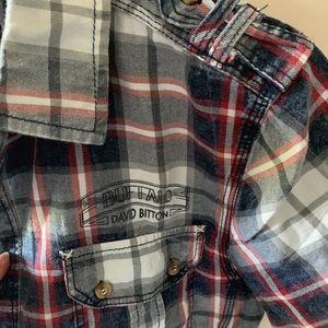 Men's NWT short sleeved Buffalo shirt